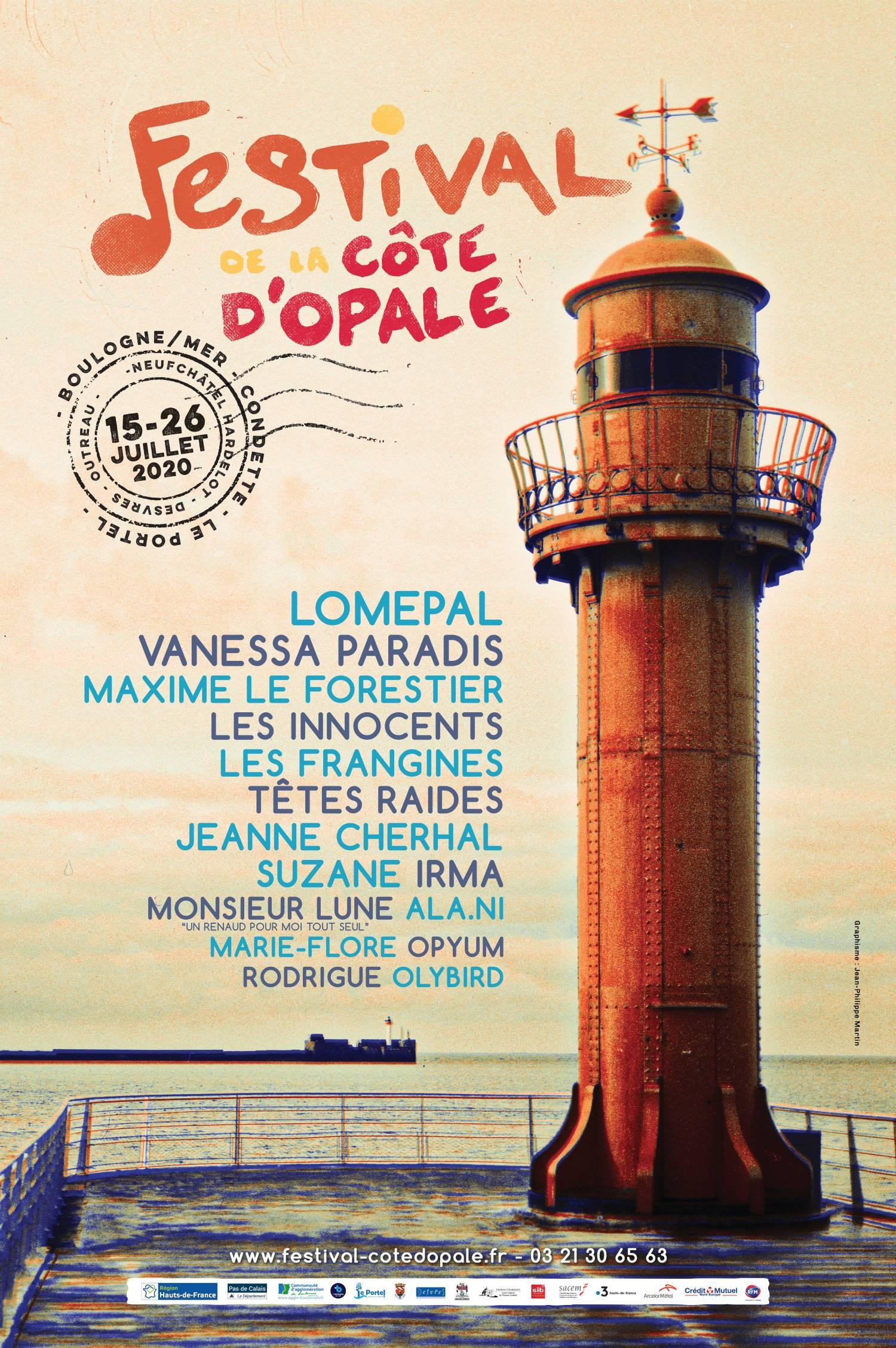 Affiche du festival de la Côte d'Opale 2019