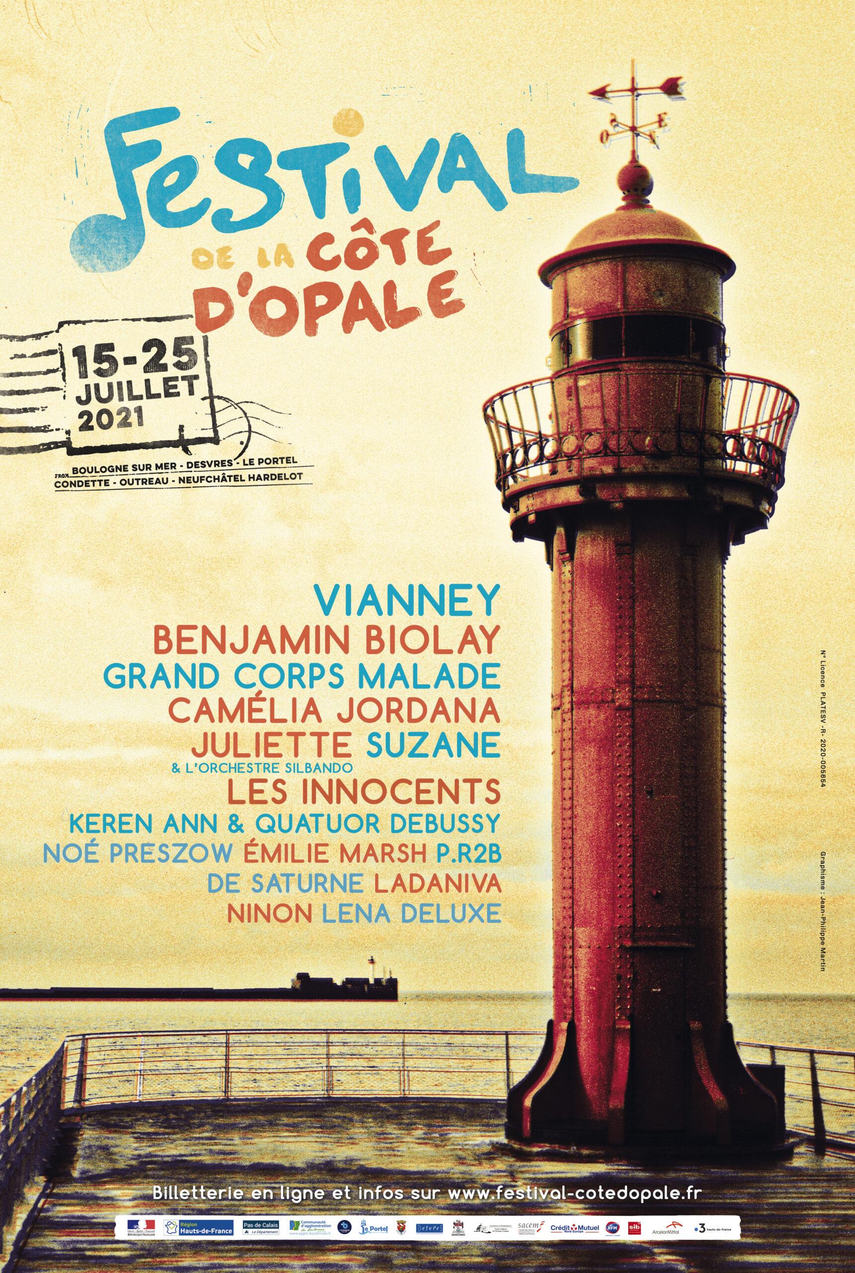 Affiche Festival de la Côte d'Opale
